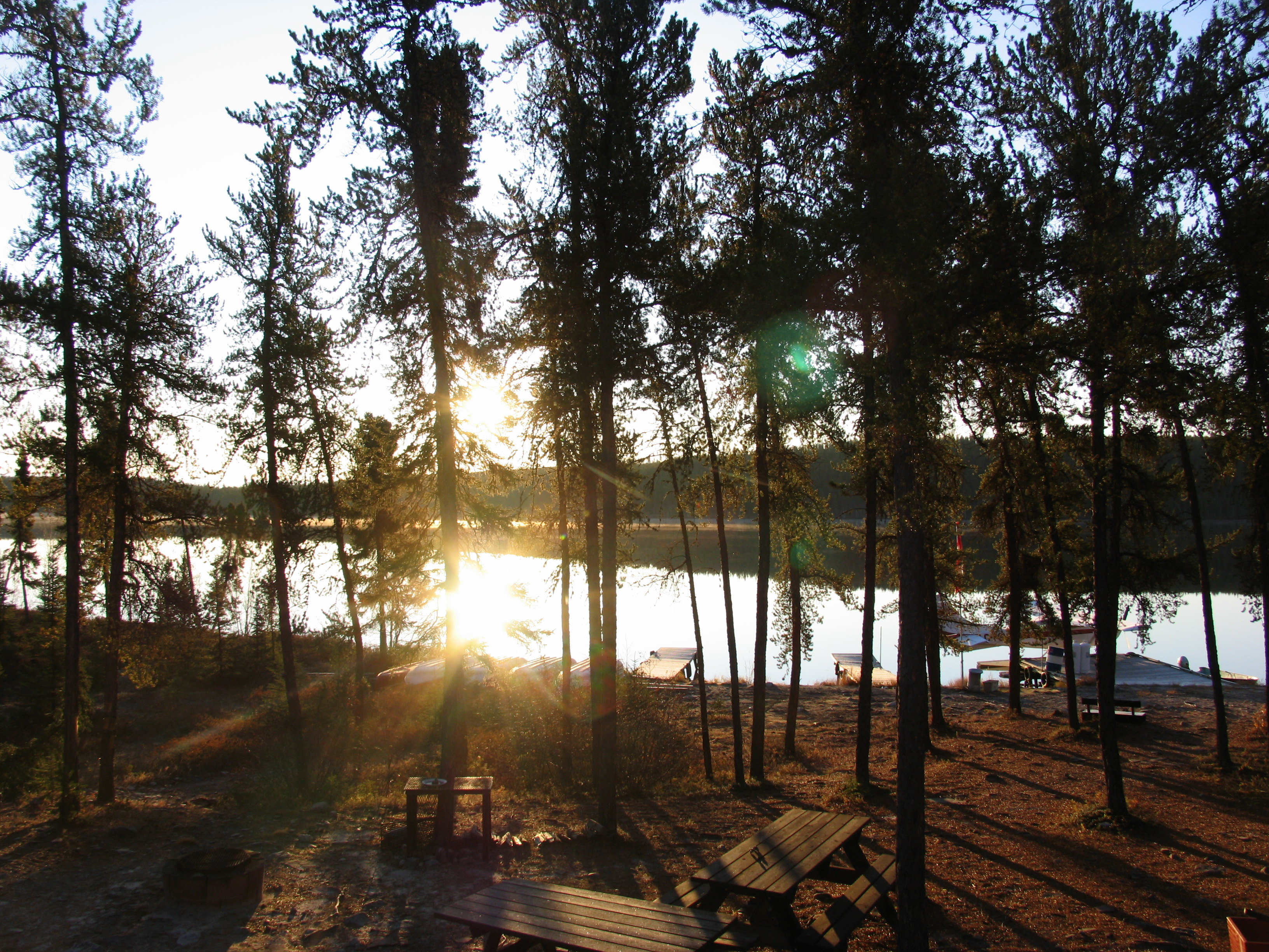Scenic photos from Pipestone Lake Fishing Lodge
